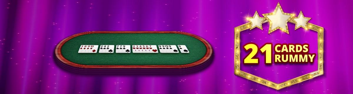 21 Cards Rummy