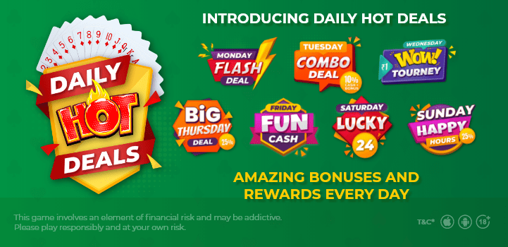 Daily Deals at Classic Rummy