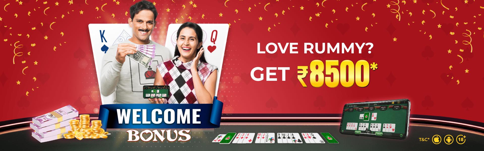 Classic Rummy Welcome Bonus