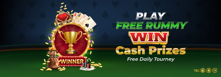 Free Roll Fever Rummy Tournament