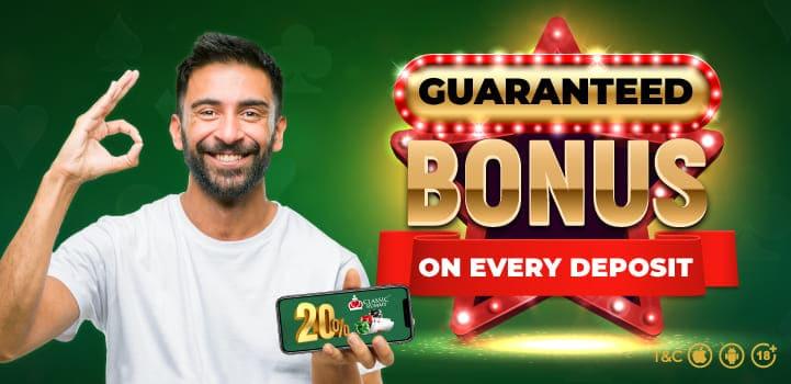 Guaranteed Bonus