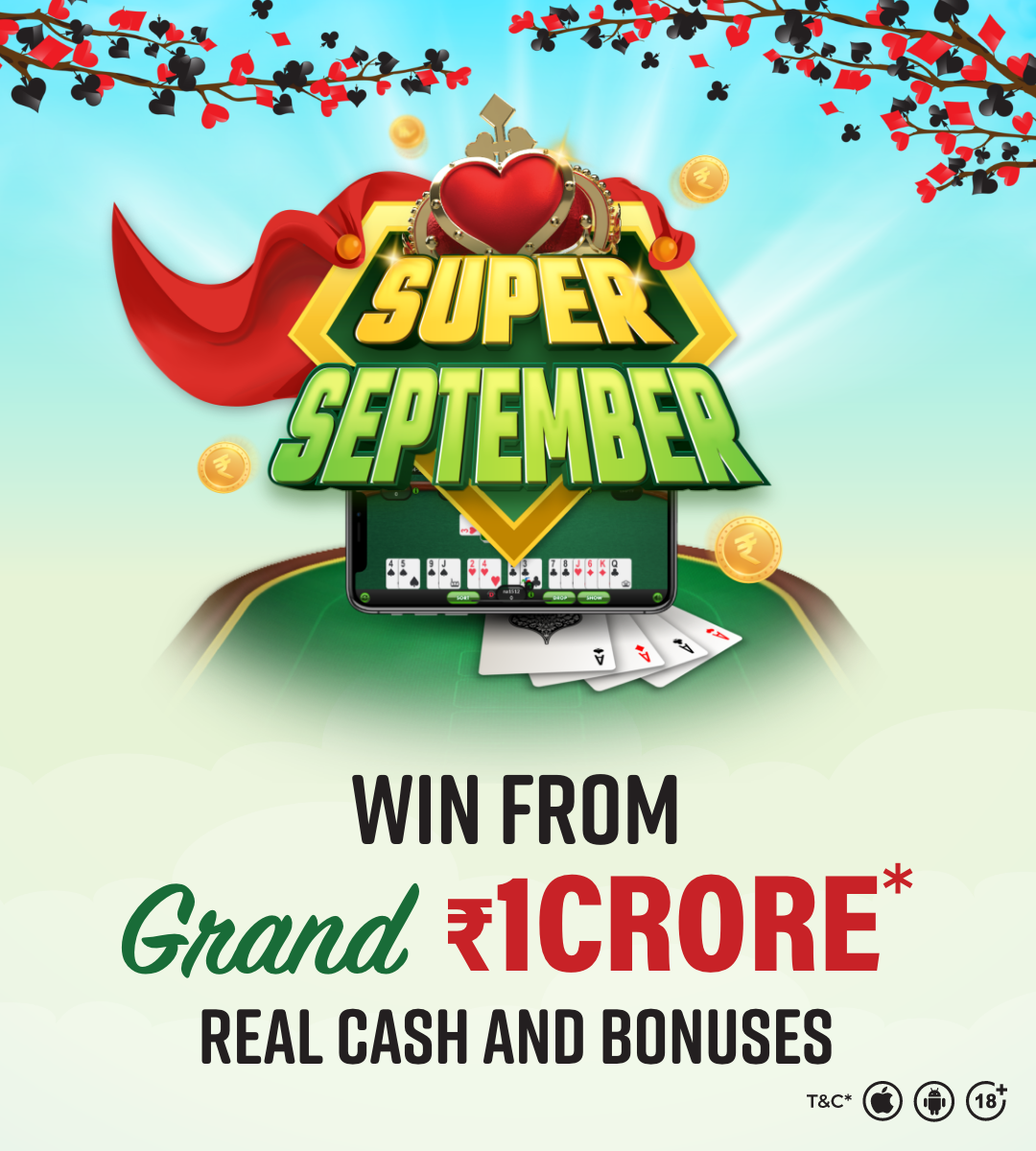 Super September at Classic Rummy