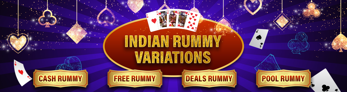 Indian Rummy Game Variations